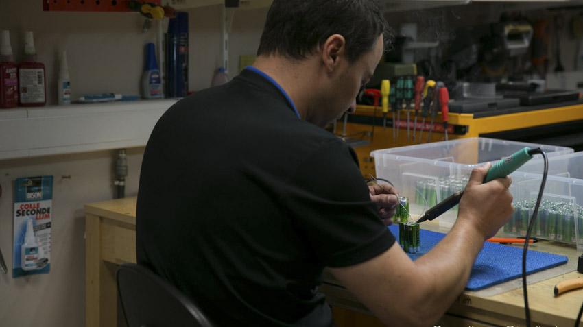 Fabrication des armes lasergame