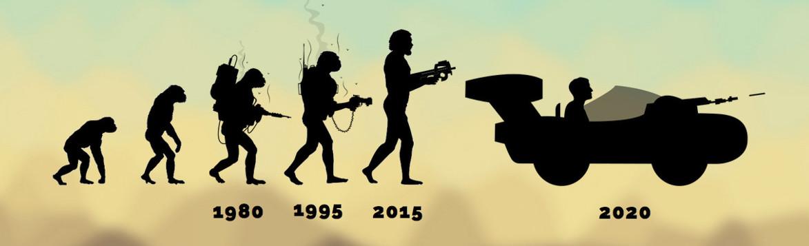 La véritable évolution du Laser Game