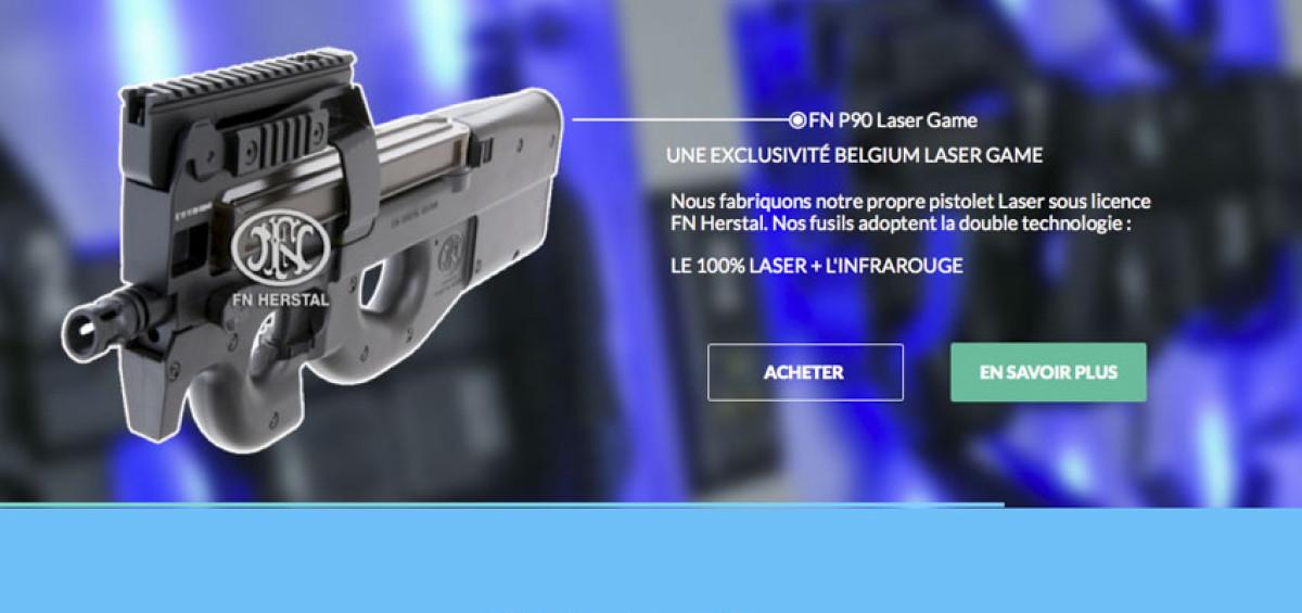 Mise en ligne du nouveau site de Belgium Laser Game